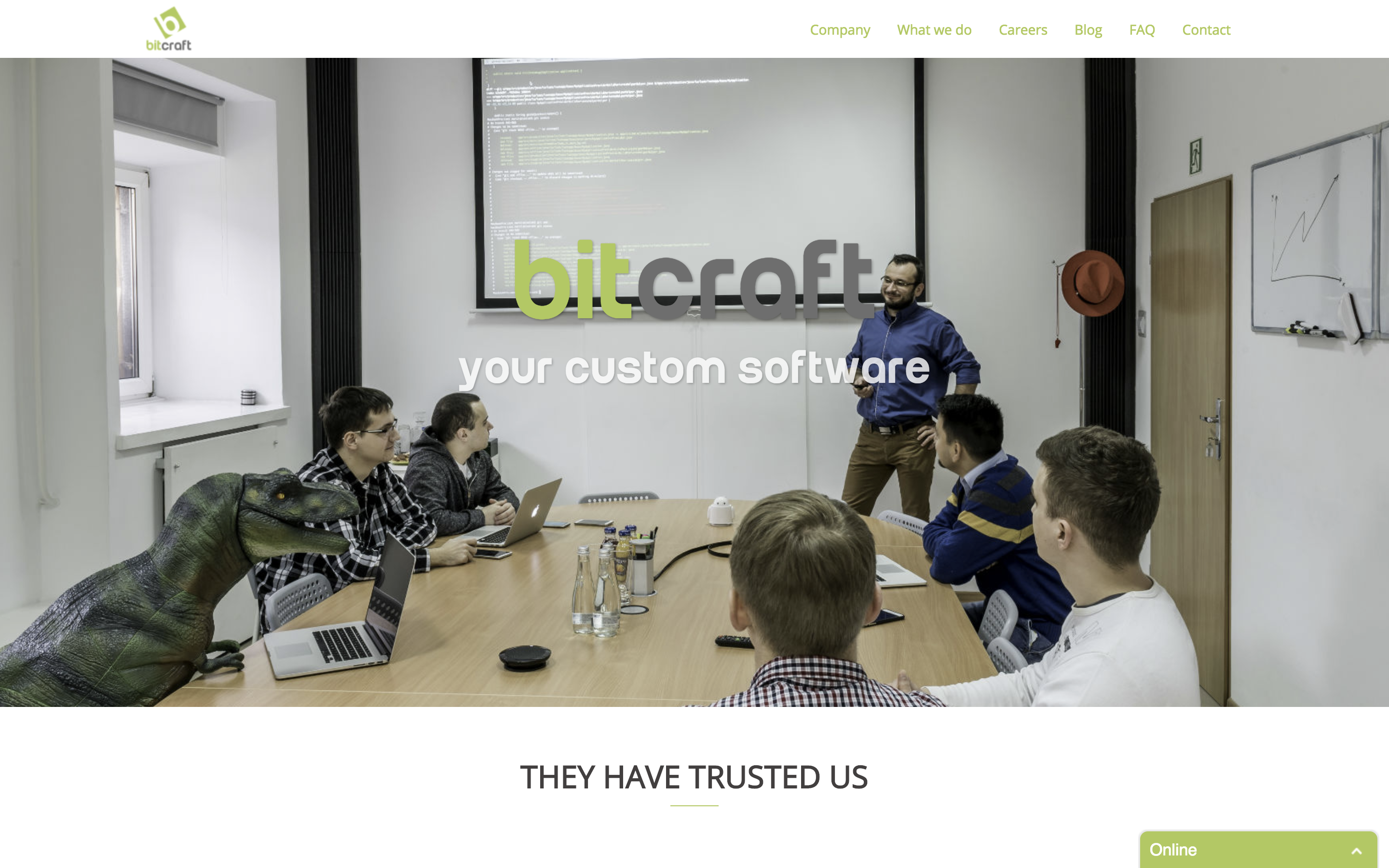 BitCraft   Creating innovative software since 2013   We will help you build your next big thing. 2018-07-23 13-30-23