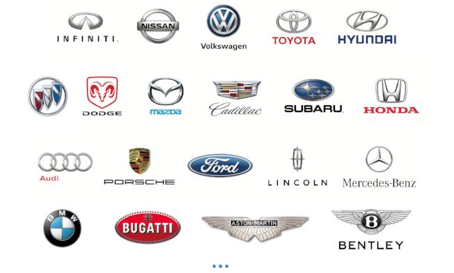 Quik Video car brands