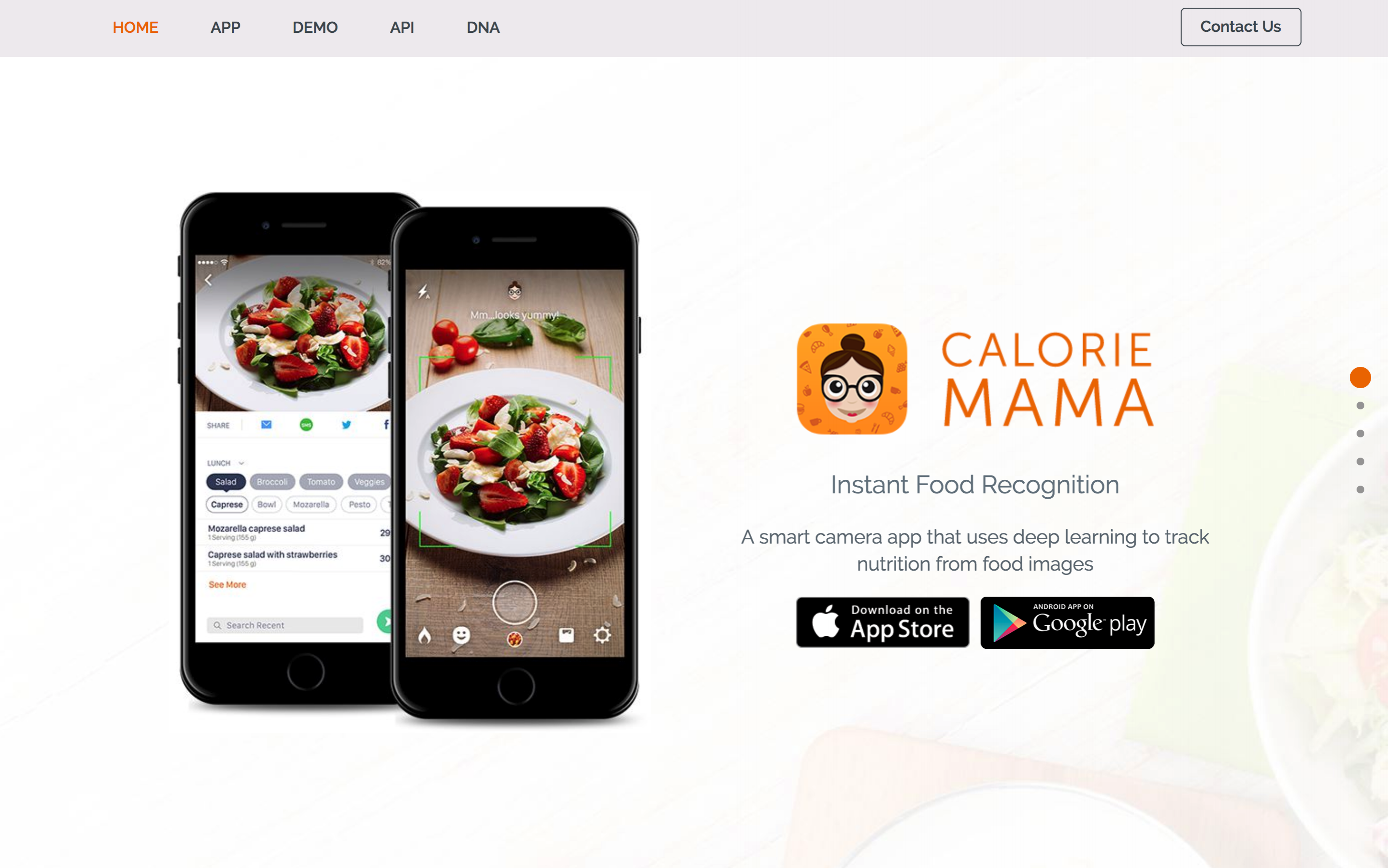 Calorie Mama Food AI - Food Image Recognition and Calorie Counter using Deep Learning 2018-10-08 13-52-22-618594-edited