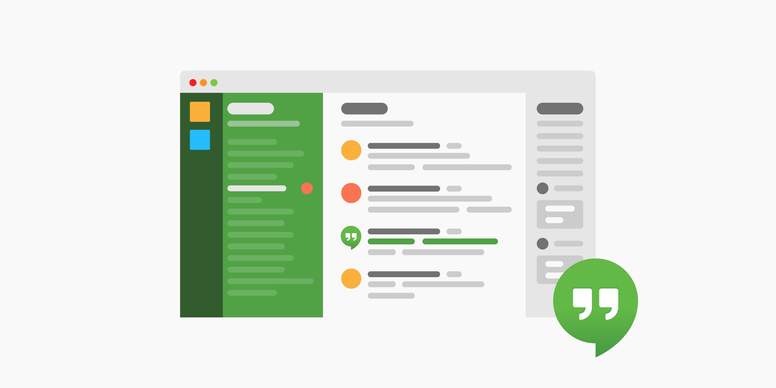 Slack integrations - Google Hangouts
