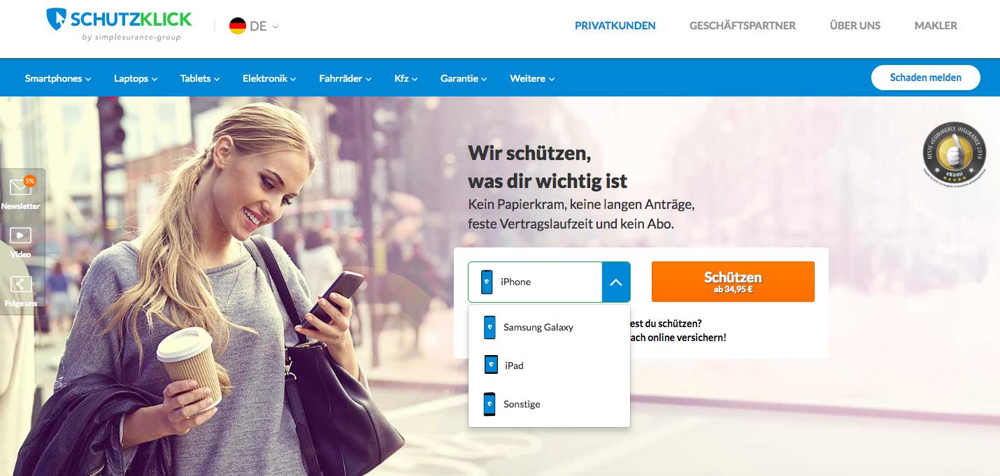schutzclick - screenshot
