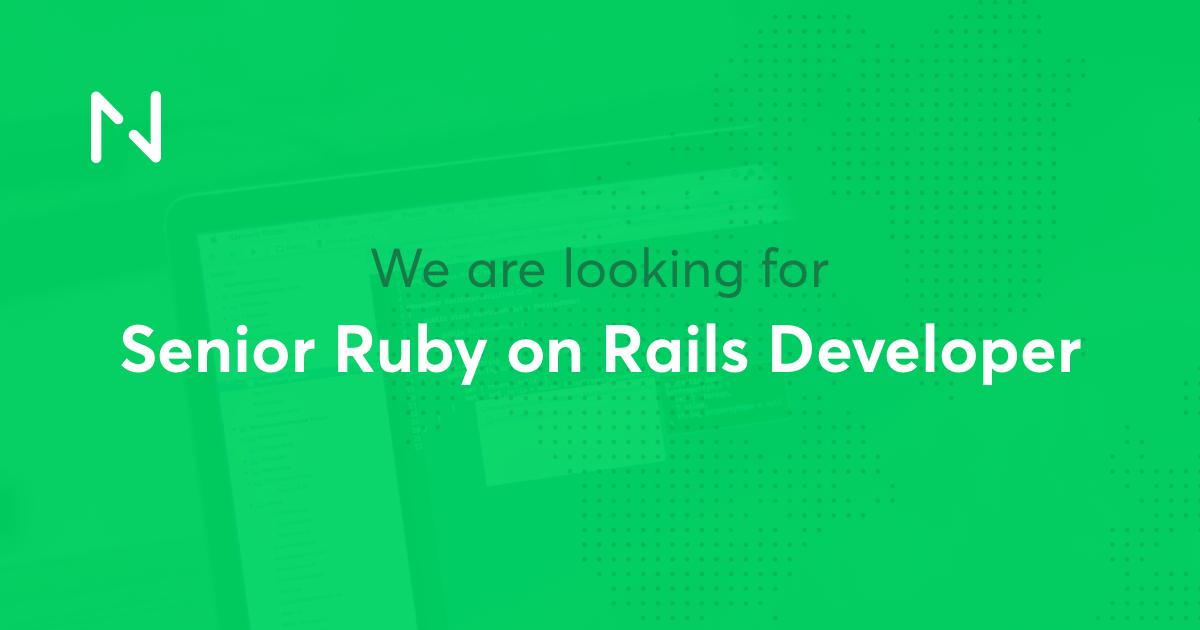 senior ruby on rails developer